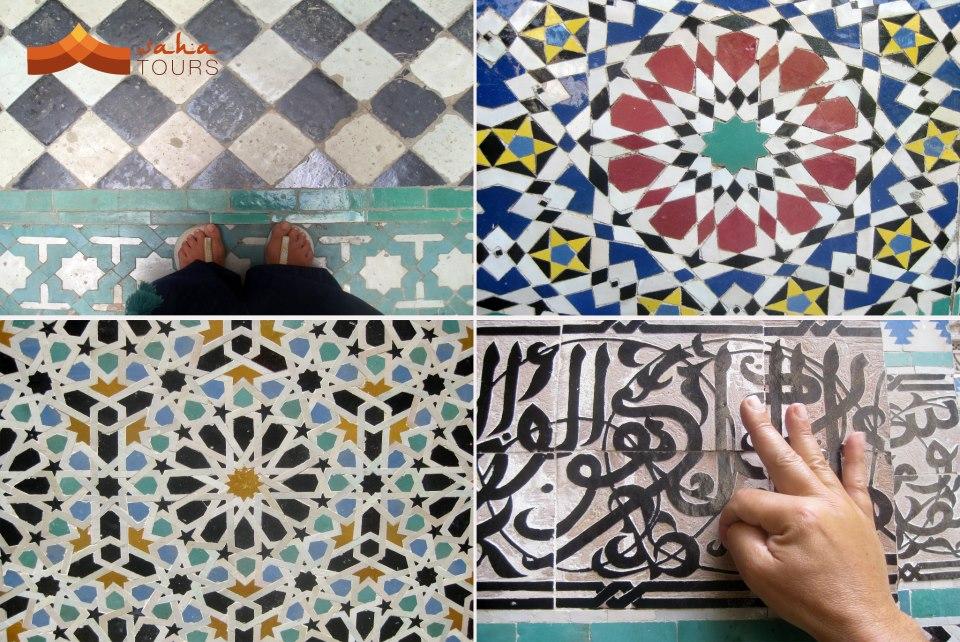 El arte del mosaico marroquí 1