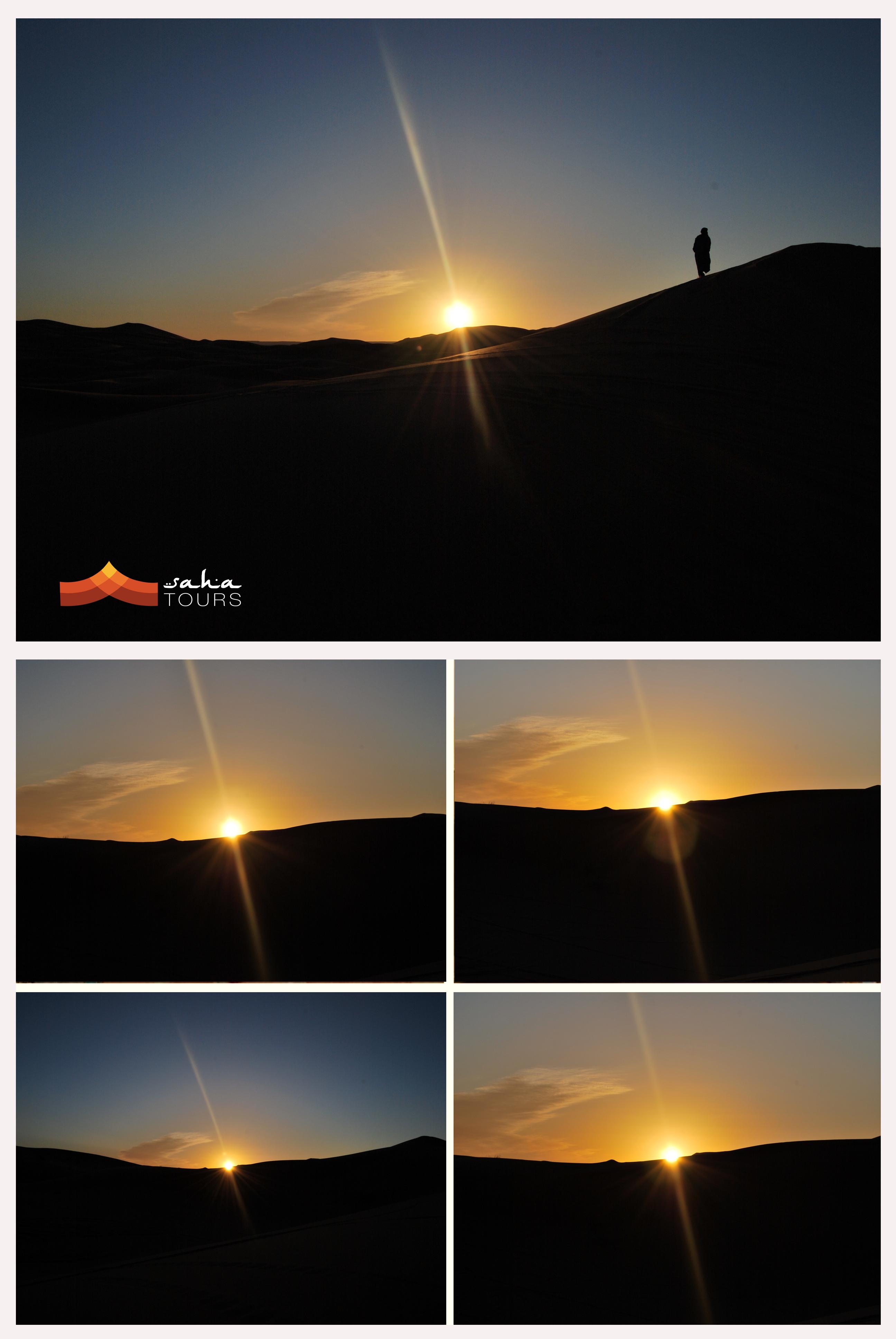 Amanecer en el desierto 1