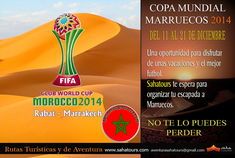 CLUB WORLD CUP-MOROCCO 2014 COPA MUNDIAL MARRUECOS 2014 1