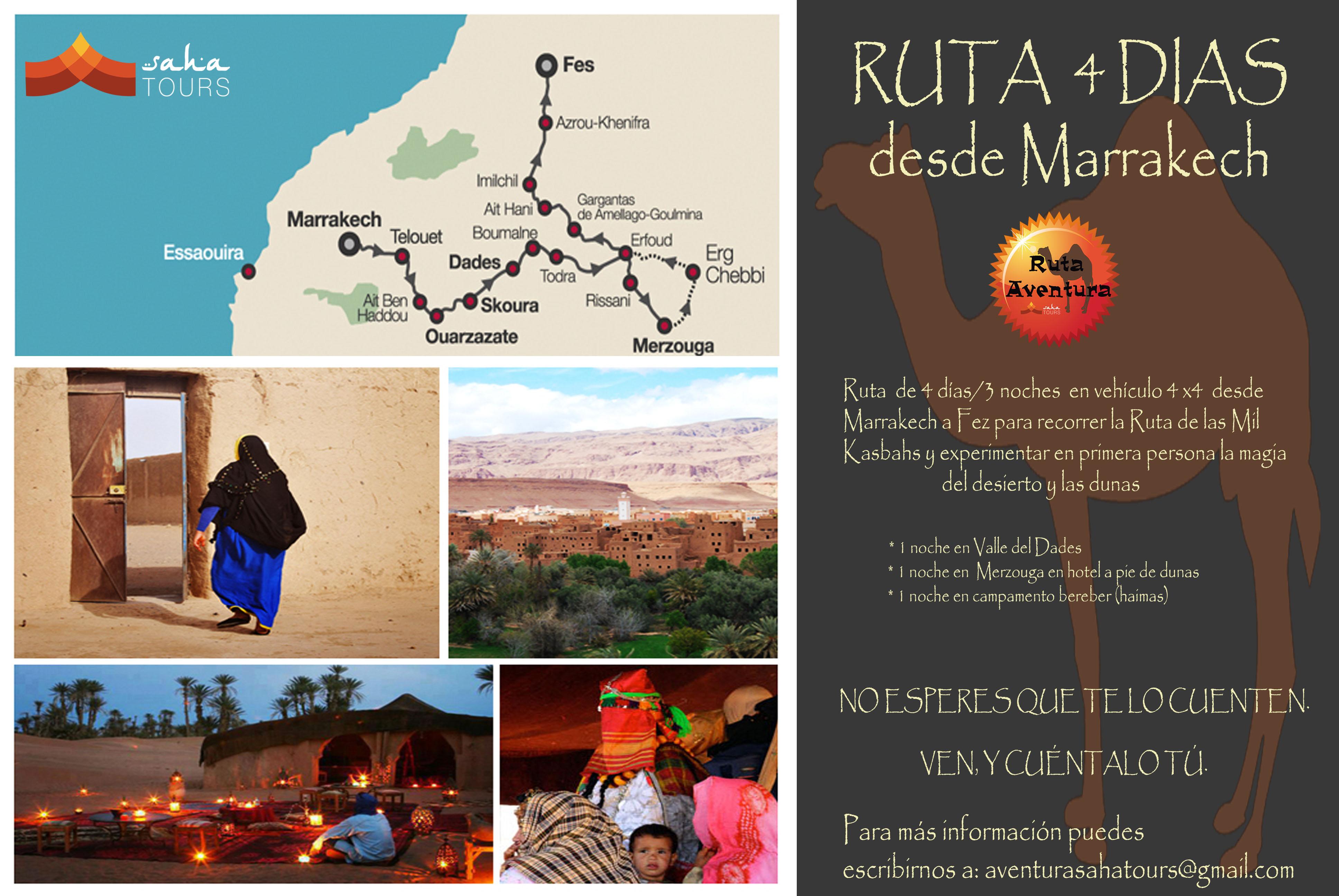 RUTA 4 DIAS DESDE MARRAKECH A FEZ 1