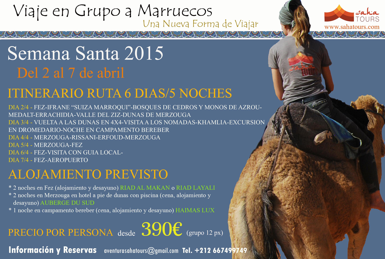 VIAJE A MARRUECOS SEMANA SANTA 2015 2