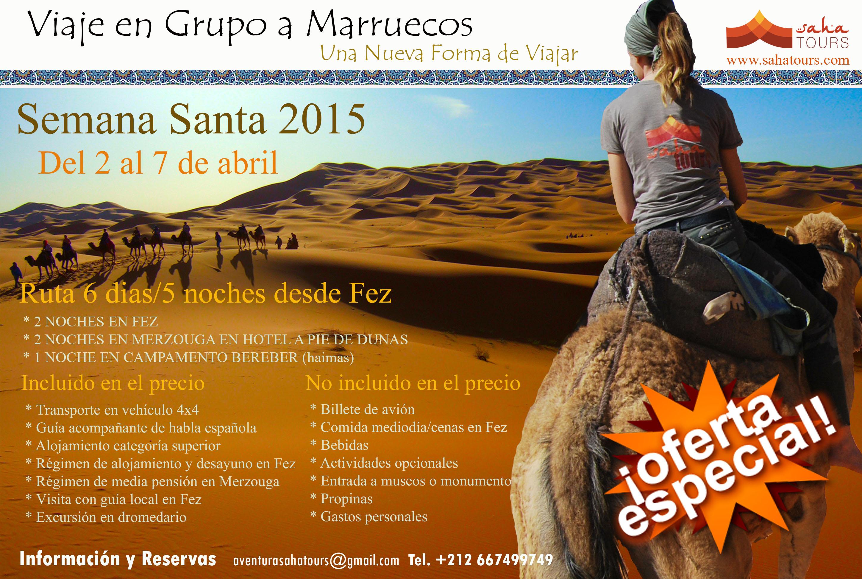 VIAJE A MARRUECOS SEMANA SANTA 2015 1