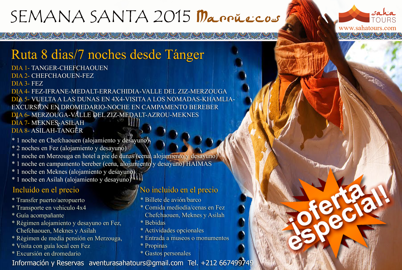 viaje marruecos semana santa 2015