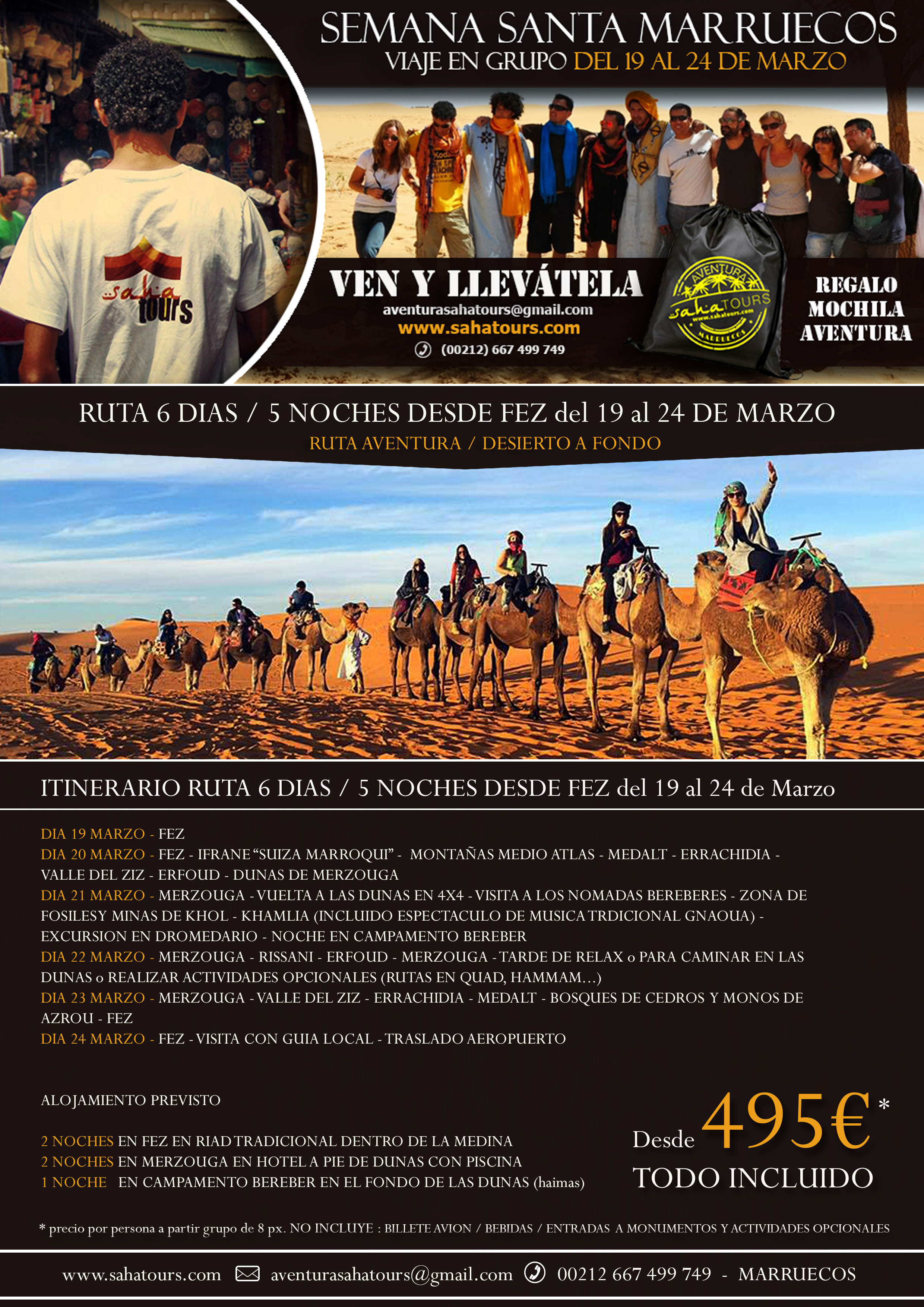 VIAJE A MARRUECOS EN GRUPO - SEMANA SANTA 2016 1