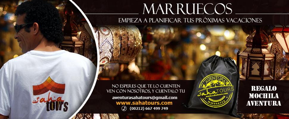 RUTAS Y TOURS EN MARRUECOS VERANO 2016 1