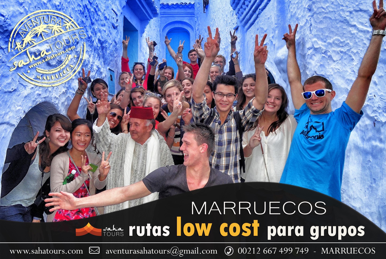 MARRUECOS LOW COST PARA GRUPOS. VIAJES PARA ESTUDIANTES 1