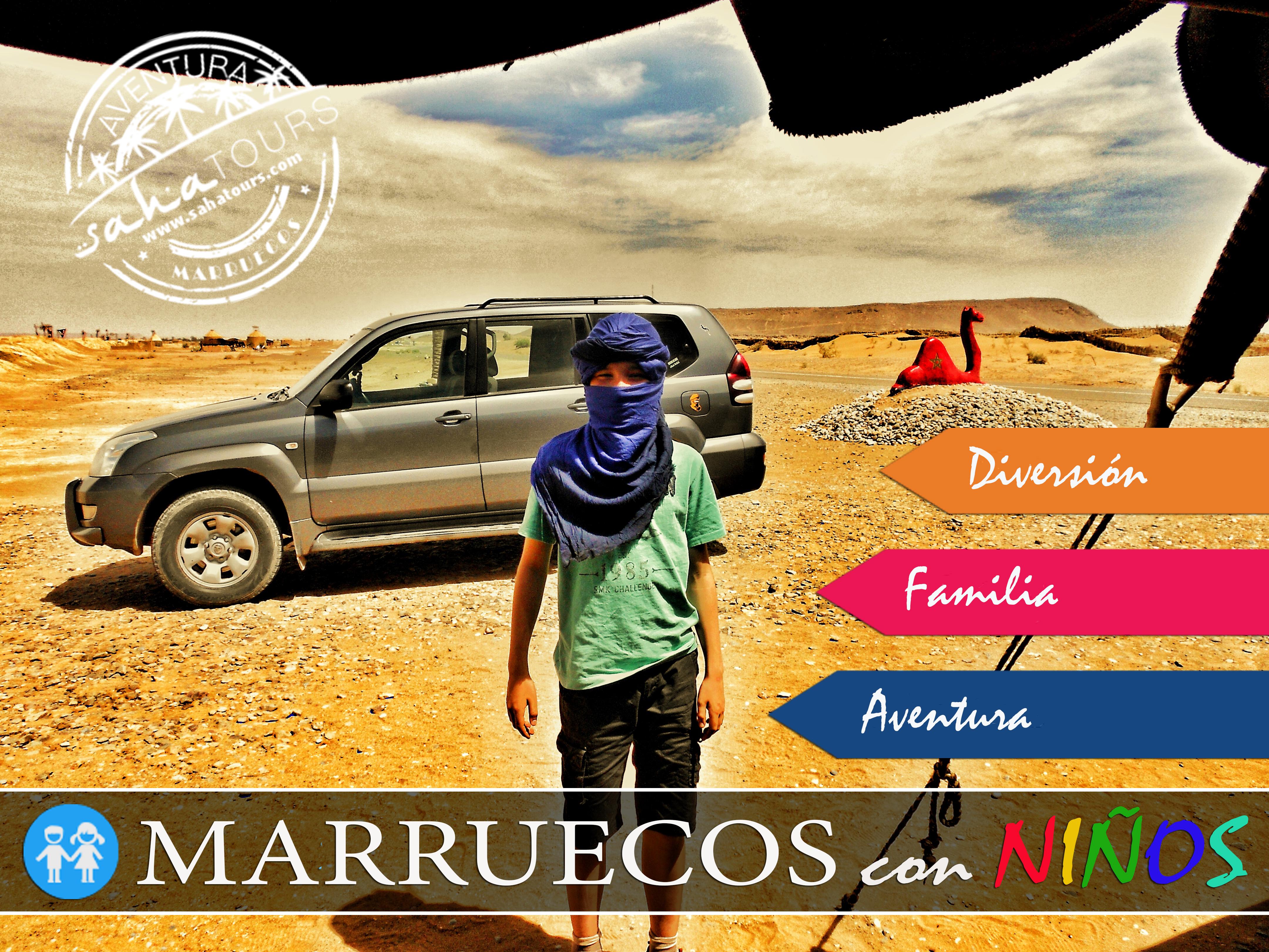 MARRUECOS CON NIÑOS. VACACIONES Y AVENTURA EN FAMILIA 1
