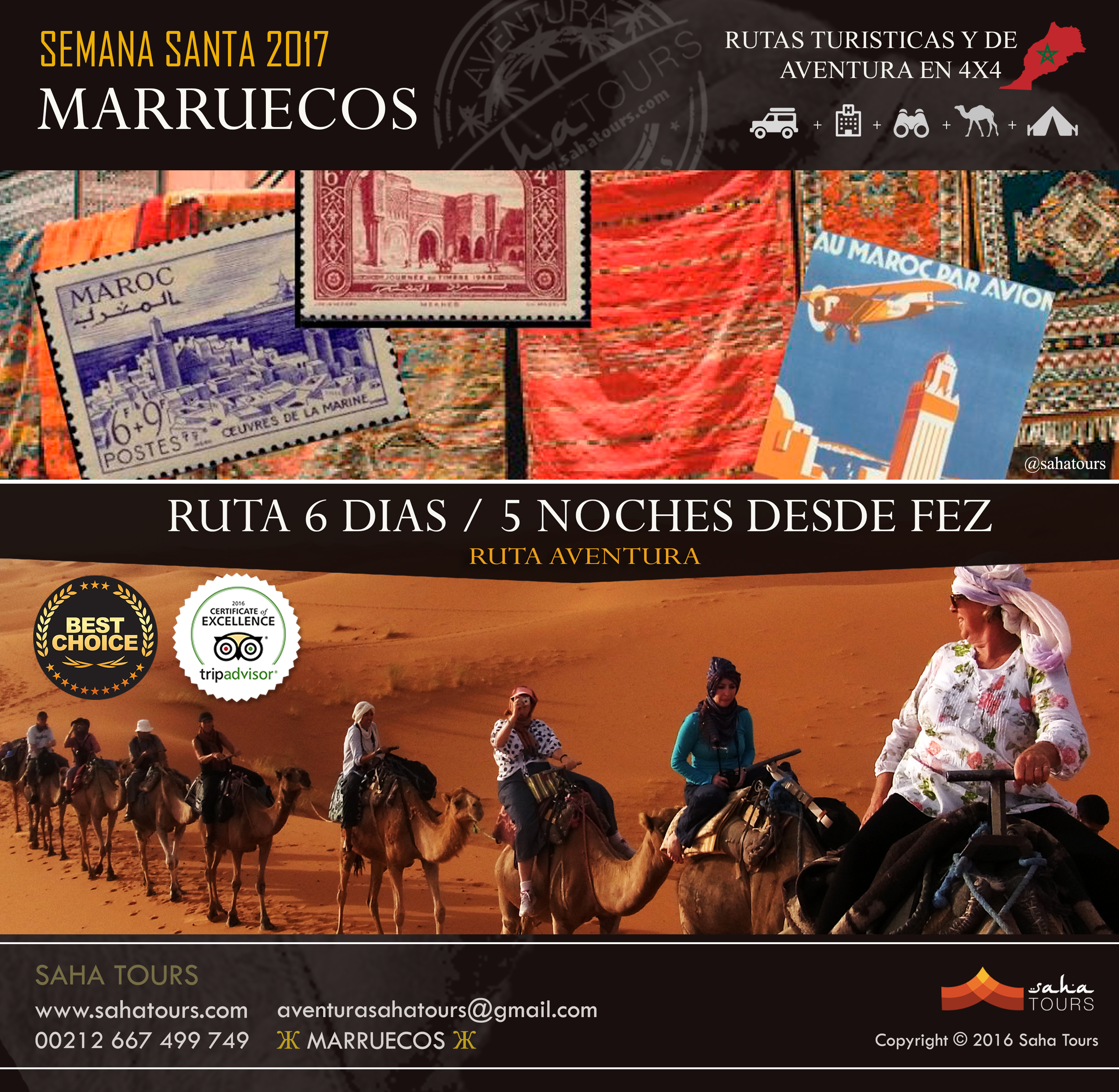 VIAJE A MARRUECOS - SEMANA SANTA 2017 - RUTA 6 DIAS / 5 NOCHES DESDE FEZ 1