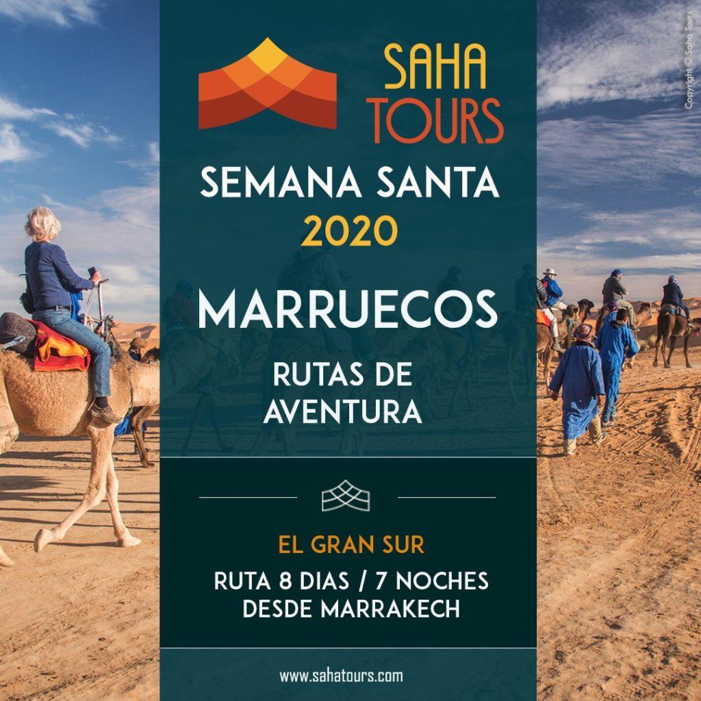 SEMANA SANTA 2020 EN MARRUECOS / RUTA AVENTURA EL GRAN SUR 1